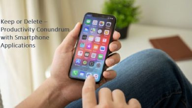 Keep or Delete –Productivity Conundrum with Smartphone Applications