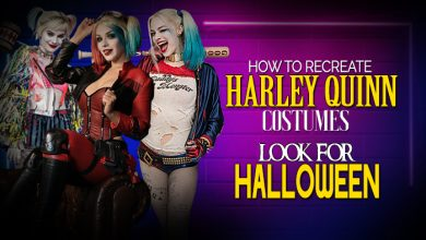 How To Recreate Harley Quinn Costumes Look For Halloween
