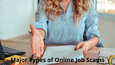 Major Types of Online Job Scams