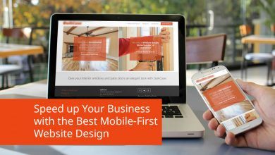 Speed up your business with the best mobile-first website design