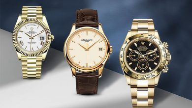 Yellow Gold Luxury Watches